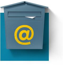 Casuta de email