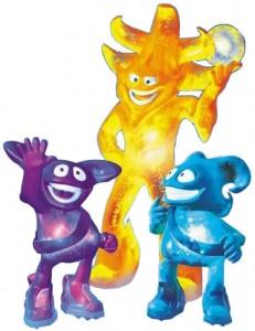Ato, Kaz y Nik