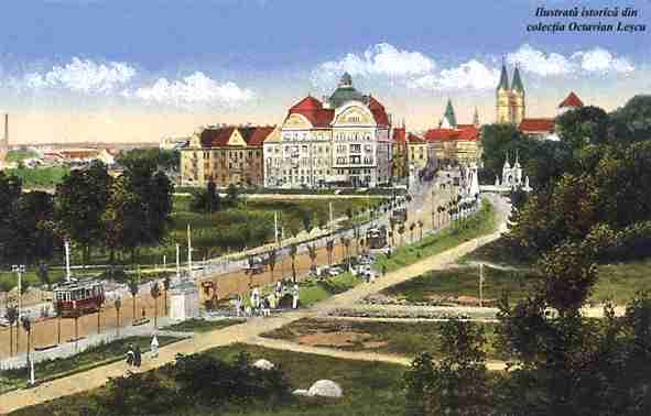 Timisoara - Cartier Cetate (1915)