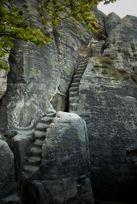 Scarile muntilor Elbe Sandstone