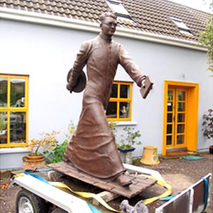 Hugh O'Flaherty monument