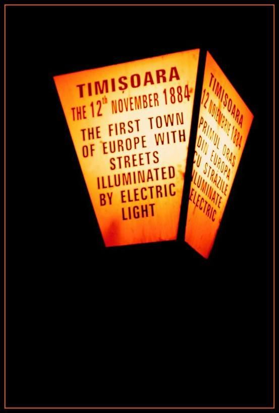 Lampa in Timisoara