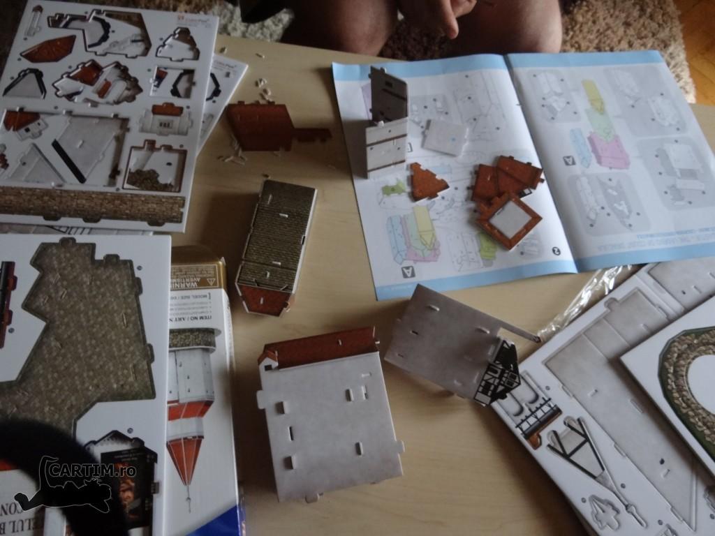 Bran puzzle 3D