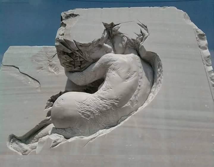 Imbratisare in piatra