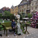 Flori si umbrele la Timisoara